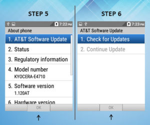 Troubleshooting the Kyocera DuraXE - Mr Aberthon