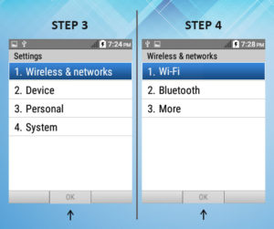 Kyocera DuraXE Wifi 3-4