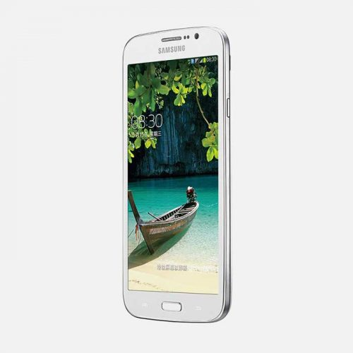Samsung Galaxy Mega 5.8 White Front Tilted