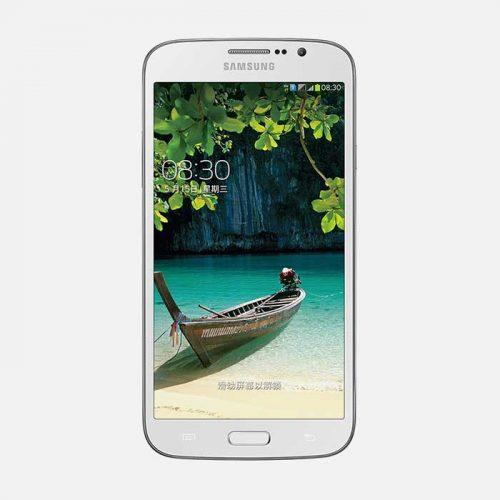 Samsung Galaxy Mega 5.8 White Front