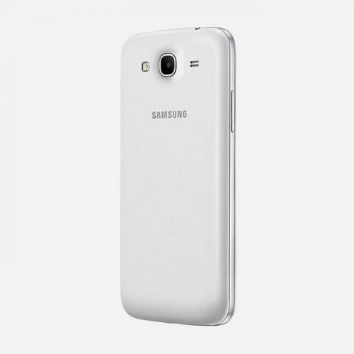 Samsung Galaxy Mega 5.8 White BackTilted