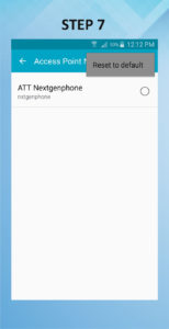 Samsung Galaxy S5 Active APN 7