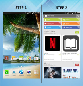 Samsung Galaxy Mega 6.3 App (2) 1-2