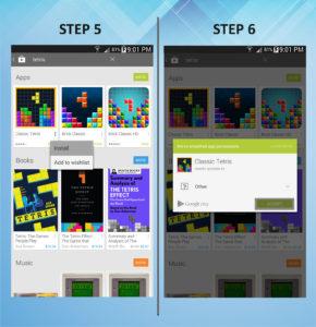 Samsung Galaxy Mega 6.3 App 5-6