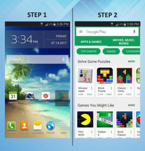 Samsung Galaxy S3 Add App 1-2