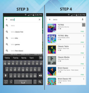Samsung Galaxy S3 Add App 3-4