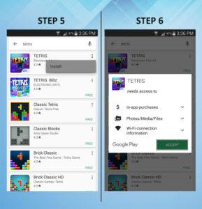 Samsung Galaxy S3 Add App 5-6