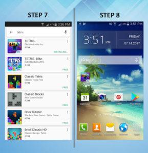 Samsung Galaxy S3 Add App 7-8