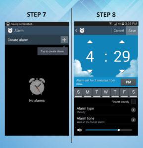 Samsung Galaxy S3 Add Widget 7-8