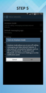 Samsung Galaxy Mega 6.3 Airplane Mode 5