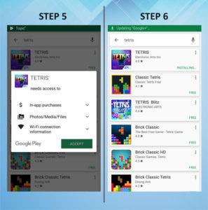 Samsung Galaxy S5 Active Add App 5-6