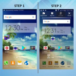 Samsung Galaxy S5 Active Delete App 1-2