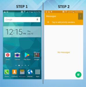 Samsung Galaxy S5 Active Auto Delete Messages 1-2