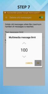 Samsung Galaxy S5 Active Auto Delete Messages 7