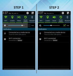 Samsung Galaxy S3 Brightness (2) 1-2