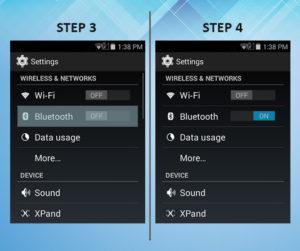 Sonim XP6 Troubleshooting Bluetooth 3-4