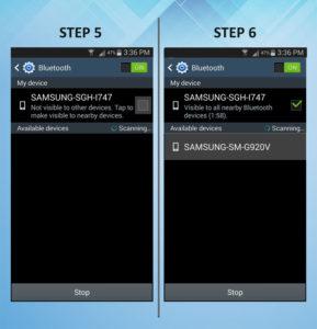 Samsung Galaxy S3 Bluetooth 5-6