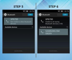 Sonim XP6 Troubleshooting Bluetooth 5-6