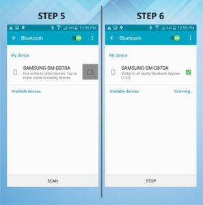 Samsung Galaxy S5 Active Bluetooth 5-6