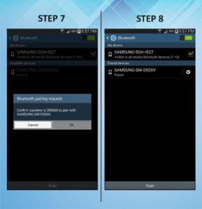 Samsung Galaxy Mega 6.3 Bluetooth 7-8
