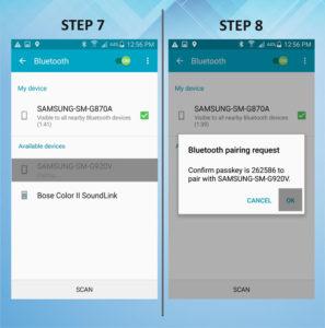 Samsung Galaxy S5 Active Bluetooth 7-8
