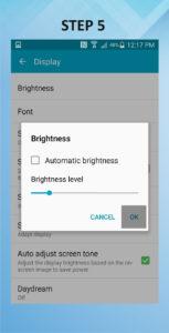 Samsung Galaxy S5 Active Brightness (2) 5-6