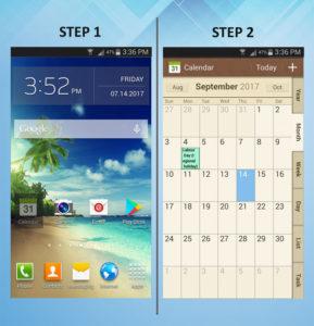 Samsung Galaxy S3 Calendar Event 1-2