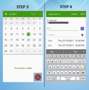 Samsung Galaxy S5 Active Calendar Event 3-4