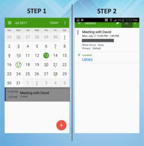 Samsung Galaxy S5 Active Delete Calendar Event 1-2