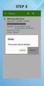 Samsung Galaxy S5 Active Delete Calendar Event 3