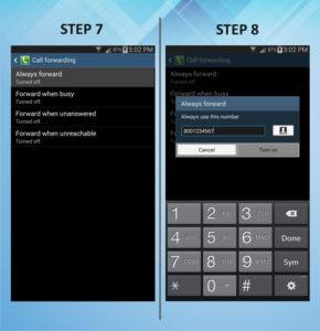 Samsung Galaxy Mega 6.3 Caller FWD 7-8