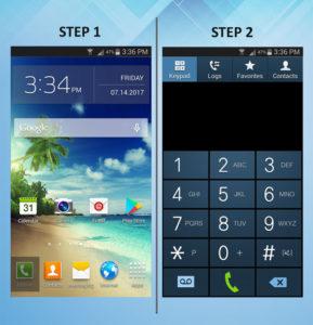 Samsung Galaxy S3 Call FWD 1-2