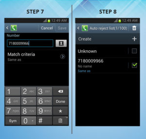Troubleshooting Rugby Pro Call Reject 7-8