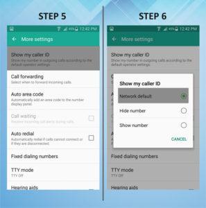 Samsung Galaxy S5 Active Caller ID 5-6