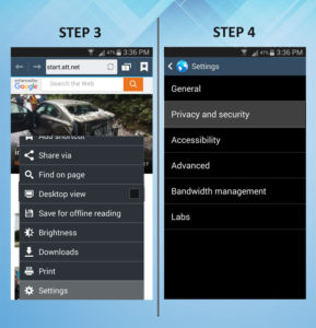 Samsung Galaxy S3 Clear Cache 3-4