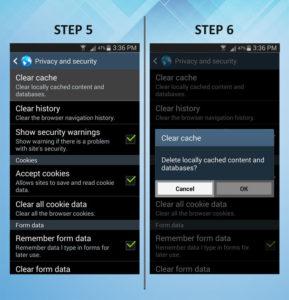 Samsung Galaxy S3 Clear Cache 5-6