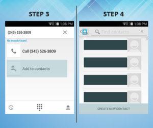 Sonim XP6 Troubleshooting Contact (2) 3-4