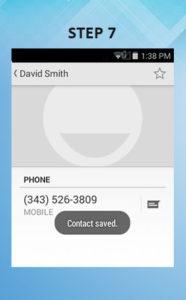 Sonim XP6 Troubleshooting Contact 7