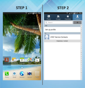 Samsung Galaxy Mega 6.3 Create Contact (1) 1-2