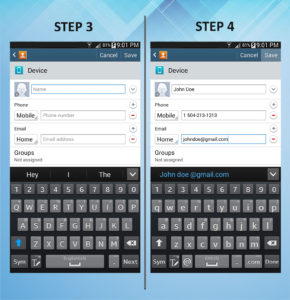Samsung Galaxy Mega 6.3 Create Contact (1) 3-4