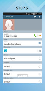 Samsung Galaxy Mega 6.3 Create Contact (1) 5