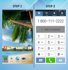 Samsung Galaxy Mega 6.3 Create Contact (2) 1-2