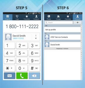 Samsung Galaxy Mega 6.3 Create Contact (2) 5-6