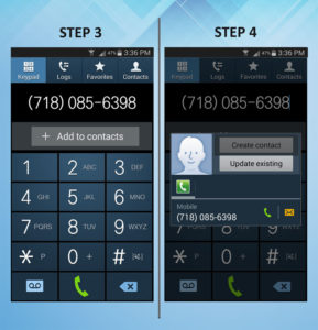 Samsung Galaxy S3 Create Contact (1) 3-4