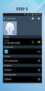 Samsung Galaxy S3 Create Contact (2) 5