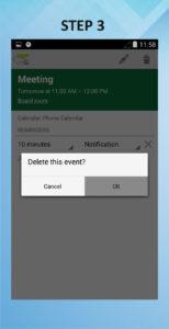Motorola Droid Ultra Delete Calendar Event 3