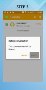 Samsung Galaxy S5 Active Delete Messages (2) 3
