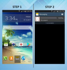 Samsung Galaxy S3 Delete Messages (1) 1-2