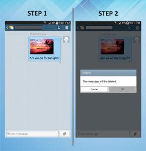 Samsung Galaxy Mega 6.3 Delete Text 1-2