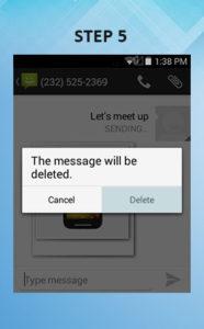 Sonim XP6 Troubleshooting Delete Text (2) 5